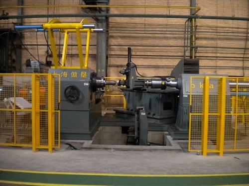 中国一重3800型旋压机